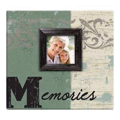 NEW Mbi  Memories Post Bound Scrapbook With Window 12In. X12in.