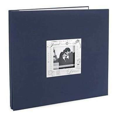 NEW Mbi Expressions Post Bound Album 12In. X12in.  Travel - Navy