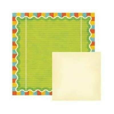 NEW Wer Memory Keepers - Funfetti - Birthday 12X12 D/Sided Paper (Pack Of 10)