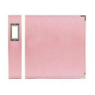 NEW Wrmk - Classic Leather 12 X 12 Album - Pretty Pink