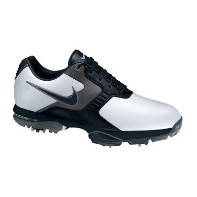 NEW Nike Air Academy II Men's Golf Shoes - White/Black [Size: 8.5 US]