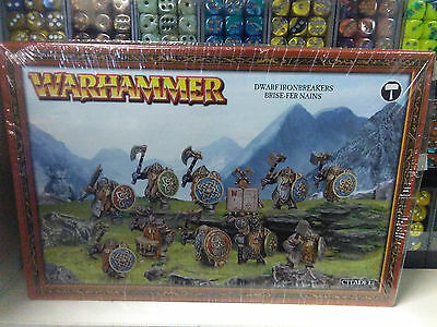 Dwarf Ironbreakers Irondrakes Age of Sigmar Warhammer Fantasy Sealed New in Box