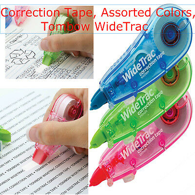 Compact Mono Correction Tape White Out Pack Break Proof Office School Paper