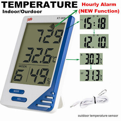 Digital Hygrometer/Humidity Thermometer Meter for Tent/Room Fan CE Thermometer