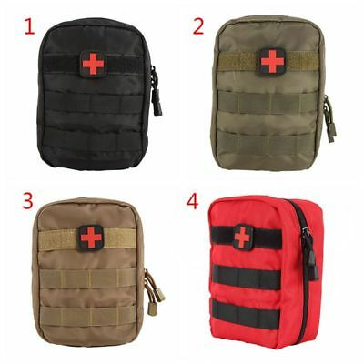 AU First Aid Kit Bag Emergency Medical Tactical Pouch Outdoor Travel Carry Bag