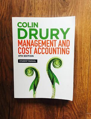 Management and Cost Accounting by Colin Drury (Paperback, 2012)