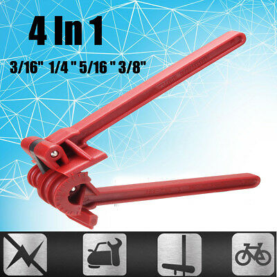4in1 180° Fibre Tube Pipe Bender For Plumbing Refrigeration Copper Aluminum Pipe