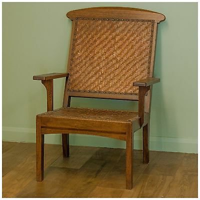 Arthur W. Simpson [The Handicrafts, Kendal] Arts & Crafts Armchair