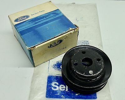 Mk1 Capri Mk1 Mk2 Escort Mk2 Mk3 Cortina Gen Ford Nos Water Pump Pulley (2 Belt)