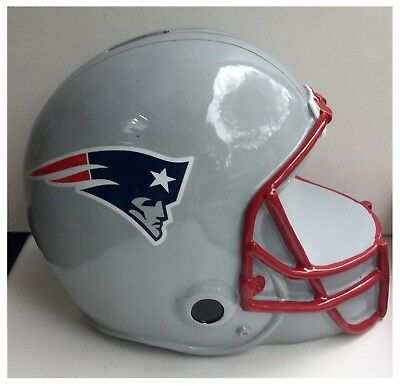 New England Patriots NFL American Football Helmet Piggy Money Bank