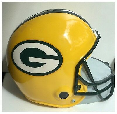 Green Bay Packers NFL American Football Helmet Piggy Money Bank