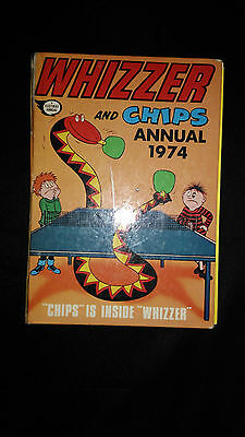 Whizzer And Chips Vintage Annual 1974