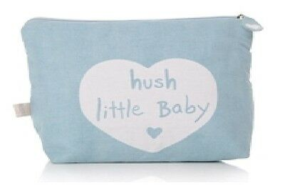 Blue Hush Little Baby Wash Bag