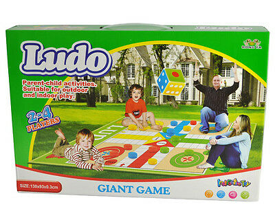 Giant Ludo Dice Game 180 X 160 X 0.3CM