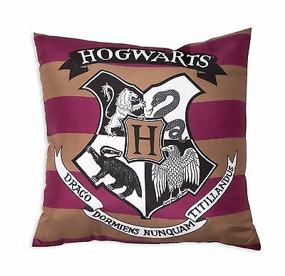 Harry Potter 'hogwarts' New Official Cushion Pillow - Kids Boys Girls Child Gift