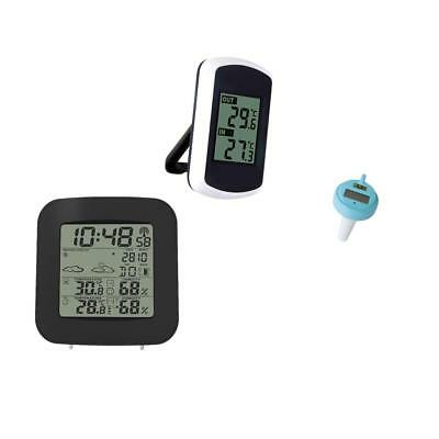 MagiDeal Wireless Weather Forecaster + Swimming Pool Floating Thermometer