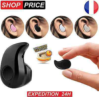 Oreillette sans fil invisible bluetooth V4.0 pour iphone Samsung HTC