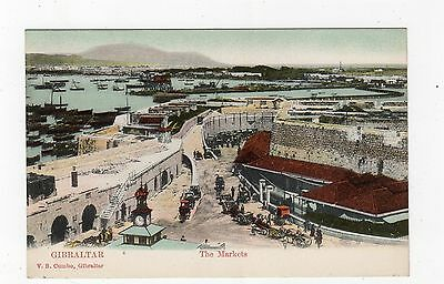 THE MARKETS: Gibraltar postcard (JH2134)