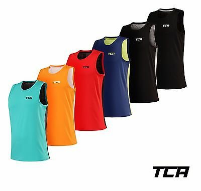 TCA Men's Swift Quickdry, Lightweight & Breathable Training Gym Running Vest Top