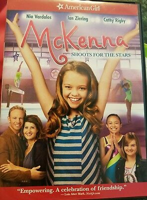 American Girl DVDs Lot McKenna Shoots For The Stars and Chrissa Stands Strong