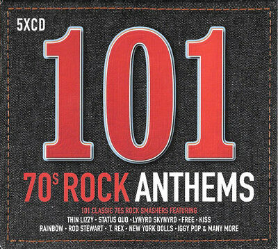 Various Artists - 101 70s Rock Anthems New CD Set
