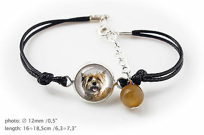 Cairn Terrier. Bracelet for people who love dogs. Photojewelry. Handmade. USA