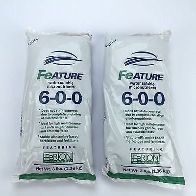 FEATURE 6-0-0 WATER Soluble Chelated Iron and Micronutrient Fertilizer