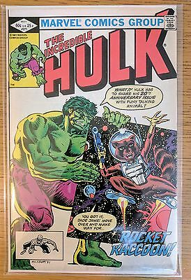 Marvel The Incredible Hulk #271 **1st App Rocket Raccoon*Guardians of the Galaxy