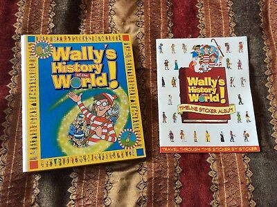 Collectable Wally's History of The World Magazine Collection VGC Where's Wally