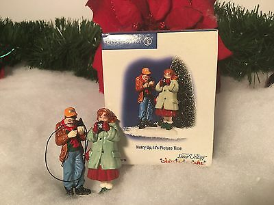 New Department 56 Hurry Up, Its Picture Time #55278 Christmas Lane Village Piece