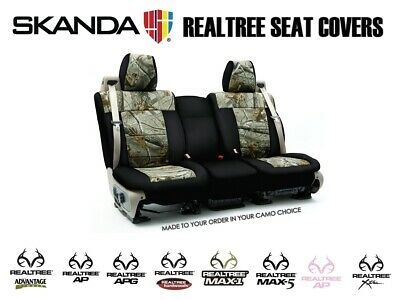 Awe Inspiring Coverking Realtree Camo Custom Tailored Front Seat Covers Alphanode Cool Chair Designs And Ideas Alphanodeonline