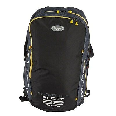 BCA Float 22 Avalanche Snow Airbag backpack  -  Black/Yellow