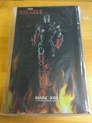 Hot Toy Iron Man 3 Marvel Mark XXII 1/9th Diecast Figure Series