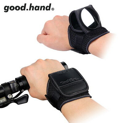 Black Bike Cycling Wrist Guards Rear View Mirror Wristbands Back Mirror Bicycle