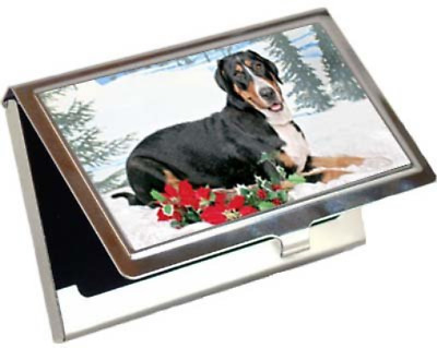 Greater Swiss Mountain Dog Business Card / Credit Card Case