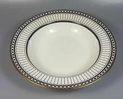 Wedgwood Colonnade (Black) R4340 Rimmed Bowl 20Cm (Perfect)