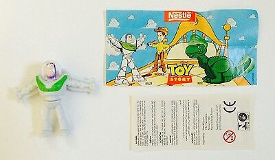 Nestle Magic Disney's Toy Story Buzz Lightyear Figure Mint w/ Paper Inserts
