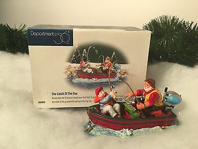 New Rare Department 56 The Catch Of The Day #54956 Village Accesory Piece
