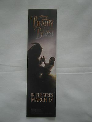 Beauty and the Beast bookmark Disney promo