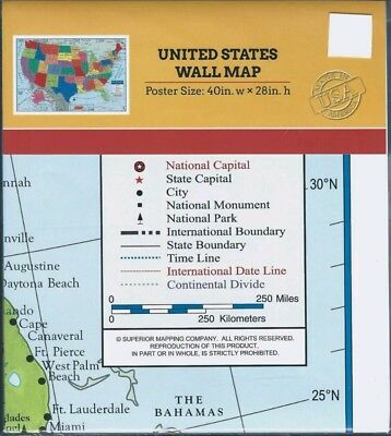 USA US MAP Poster Size Wall Decoration Large MAP of United States ...
