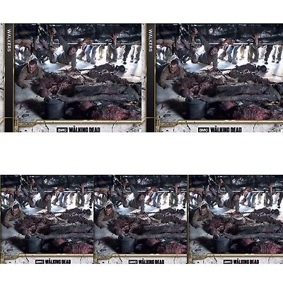 5x COME WHAT MAY CONCRETE WALKERS The Walking Dead Card Trader Digital