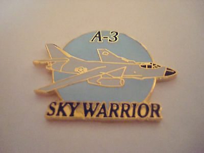 A-3 SKYWARRIOR AIRPLANE hat pin lapel pin