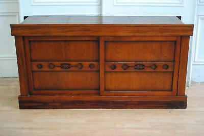 Antique Japanese Kyoto Mizuya Dansu Sideboard - Kitchen Cabinet Storage Unit