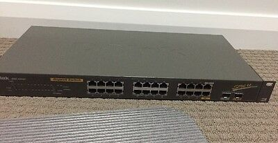 Dlink DGS-122T Gigabit Switch 24 x 10/100/1000 Ports with 2 x  Web Smart Ports