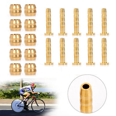 10Pair Bicycle Bike Olive Insert Connector For SHIMANO BH59 Hydraulic Brake Hose