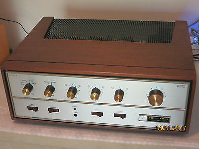 Vintage Fisher X-100-A ... Integrated Tube Amplifier Restored