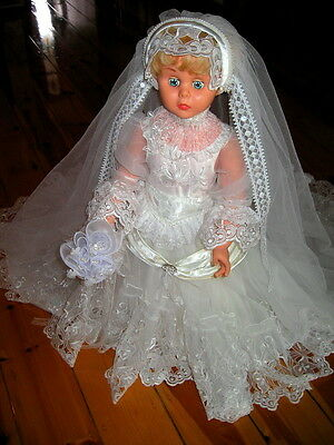 Stunning period Doll Bride and outfit.. All Handmade and embellished..