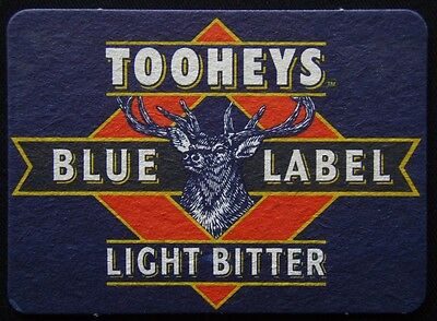 Tooheys Blue Label Light Bitter Coaster (B302)