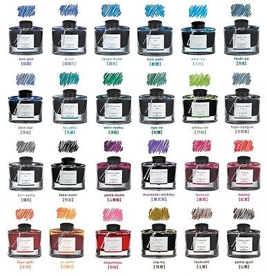 Pilot Iroshizuku Fountain Pen Ink 1 50ml Bottle Tinte Japan freies Verschiffen
