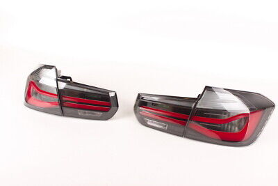 Genuine BMW M Performance Blackline tail lights F30 / F30 LCI Set 63212450105